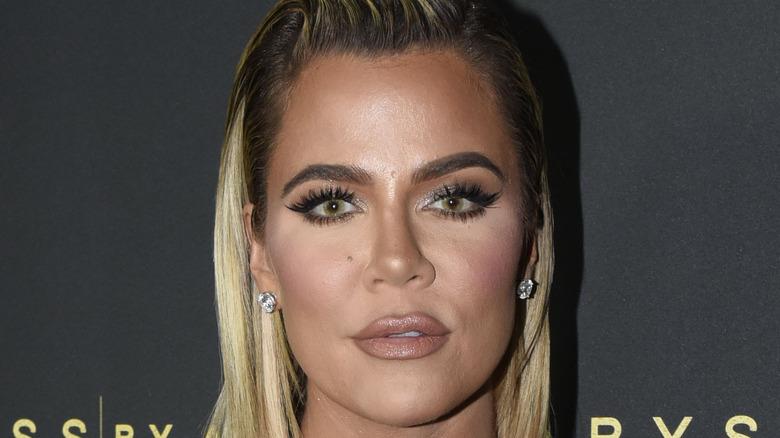 Khloé Kardashian attends an event