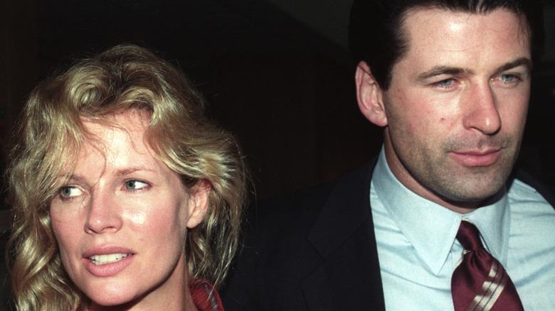 A candid photo of Kim Basinger and Alec Baldwin
