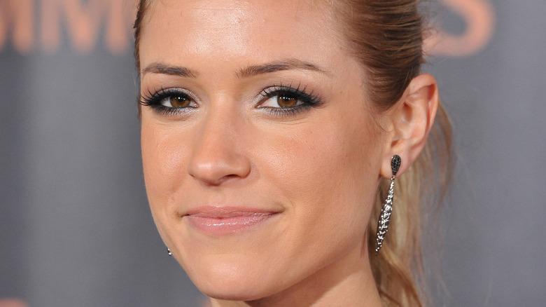 Kristen Cavallari smirking