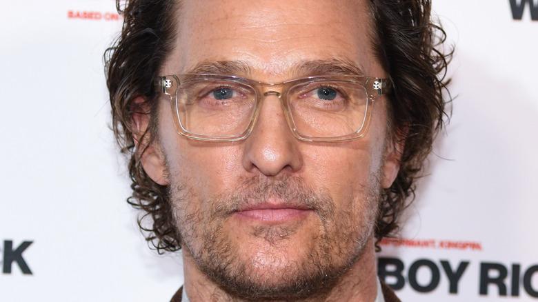 Matthew McConaughey close-up