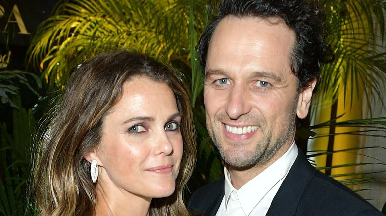 Matthew Rhys and Keri Russell attending event together