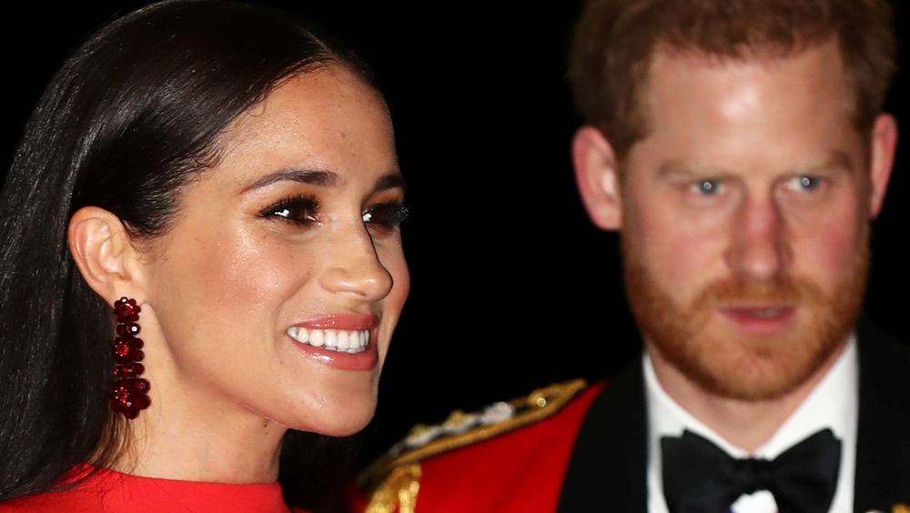 Meghan Markle and Prince Harry at royal event