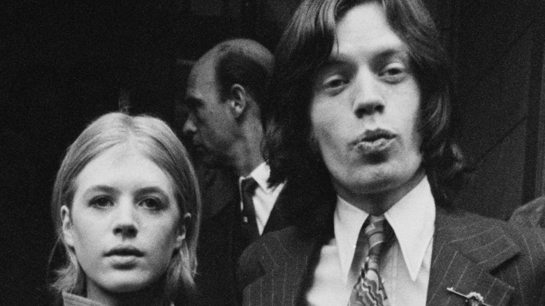 Mick Jagger and Marianne Faithfull together in London in the '60s