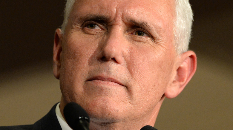 Mike Pence at press conference