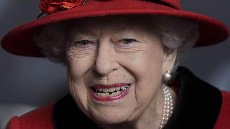 Queen Elizabeth face
