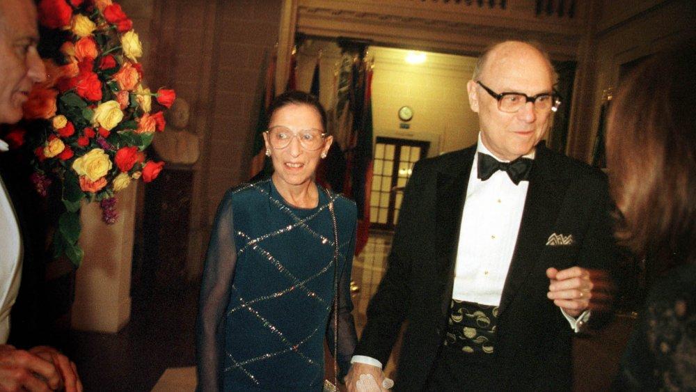 Ruth Bader and Marty Ginsburg