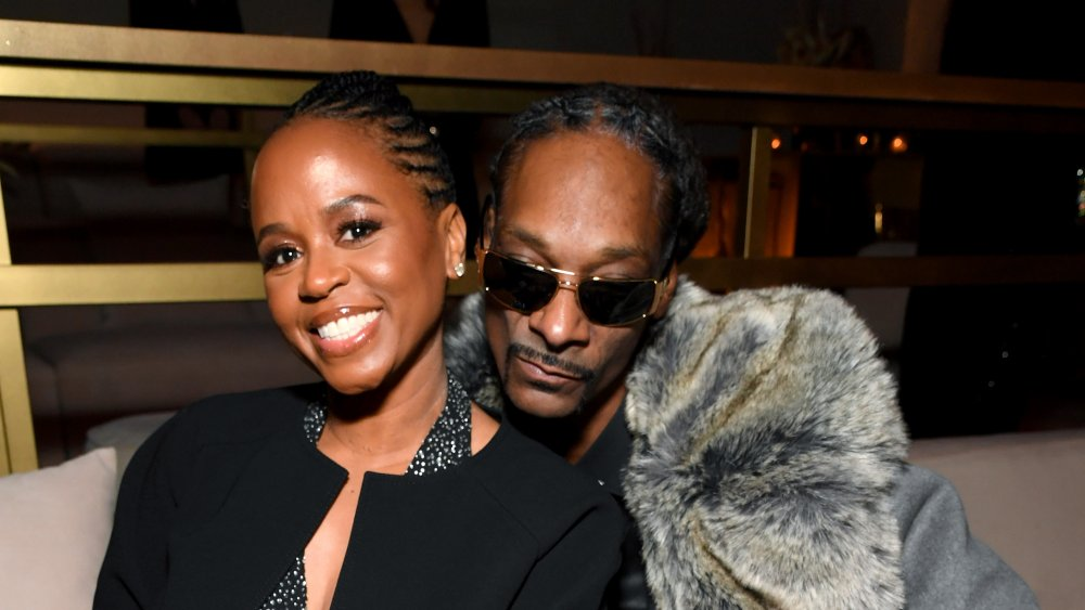 Snoop dog and his wife Shante