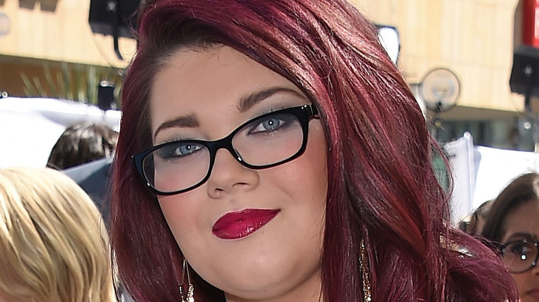 Amber Portwood on the red carpet