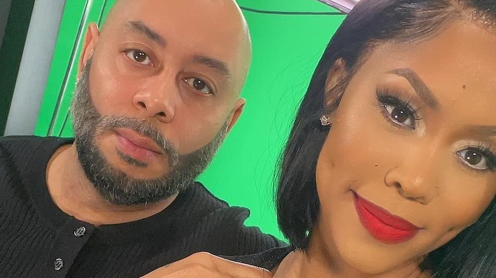 Deelishis and Raymond Santana take a selfie together for Instagram