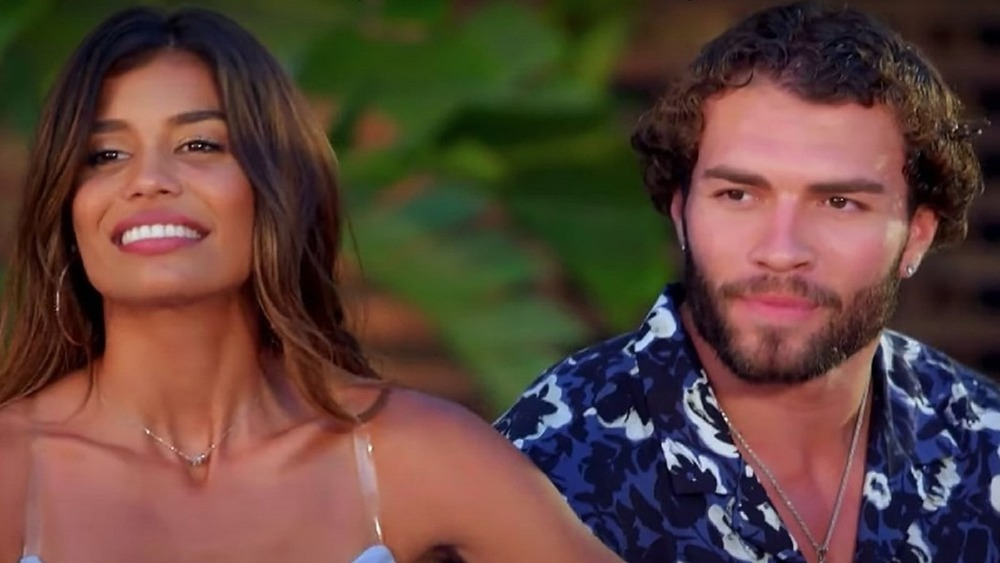 Kristen Ramos and Julian Allen from season 3 of Temptation Island