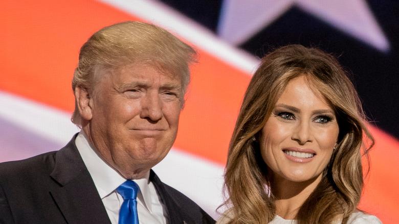 Donald Trump and Melanie Trump