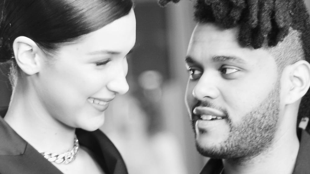 The Weeknd with Bella Hadid