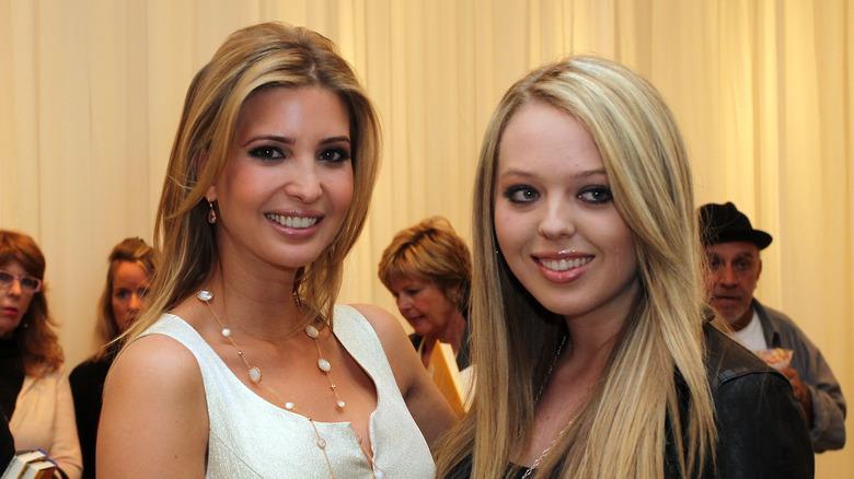 Ivanka and Tiffany Trump in 2011