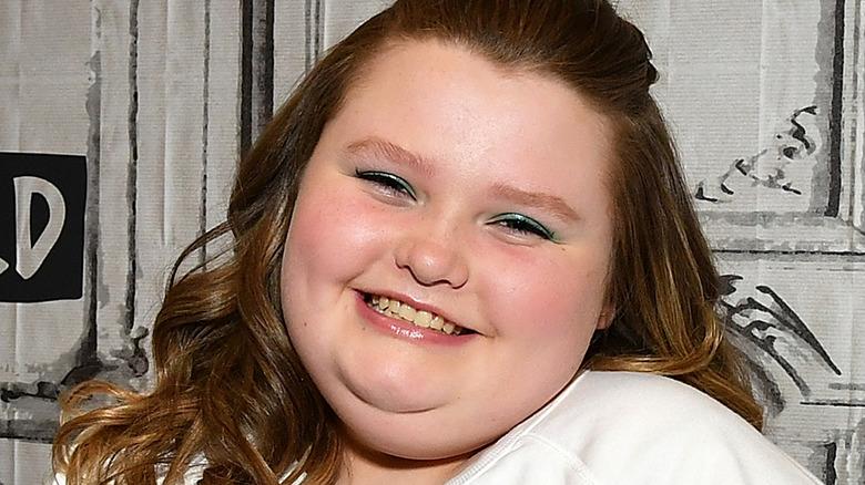 Honey Boo Boo smiling