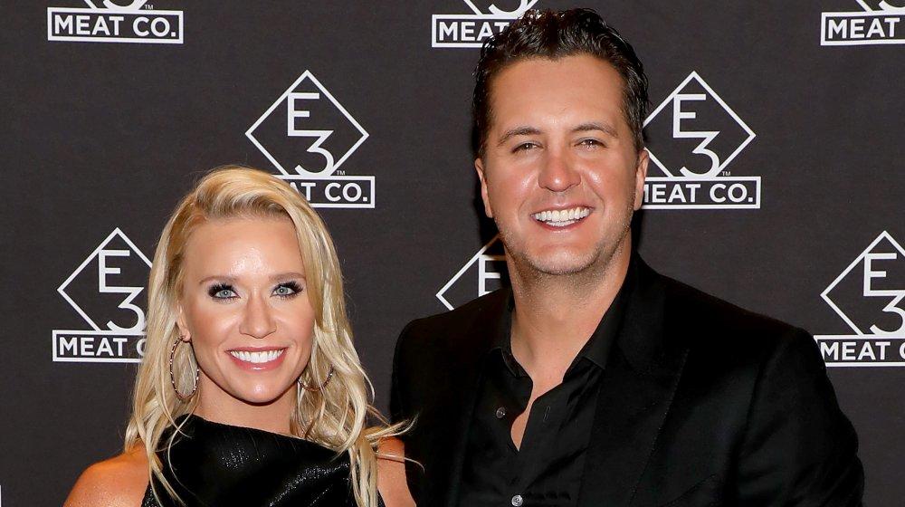Luke Bryan and wife, Caroline Boyer