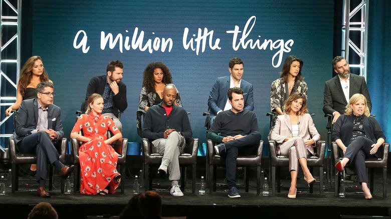 a million little things cast