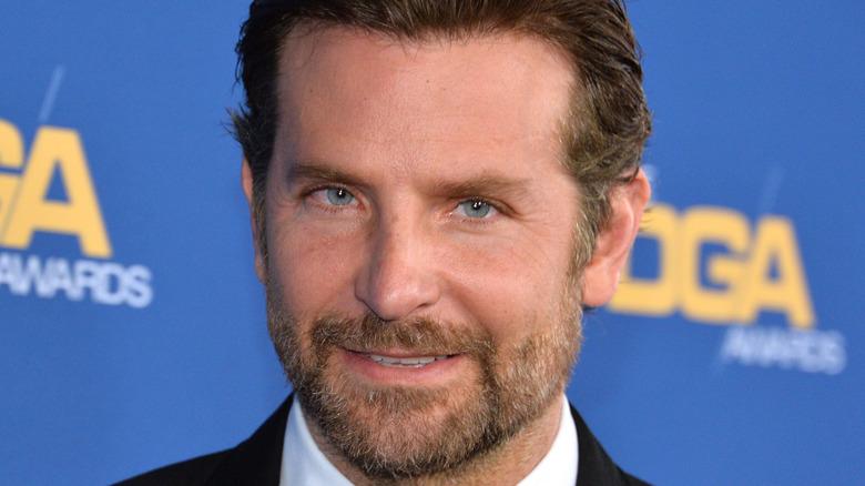 Bradley Cooper wearing a tuxedo.