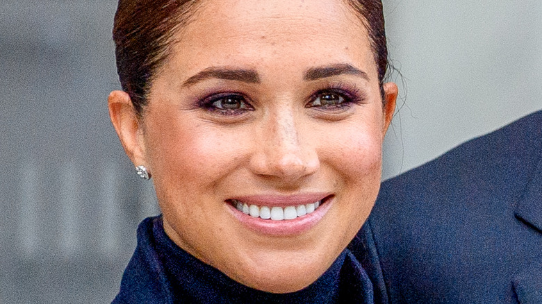 Meghan Markle at an event in NYC.
