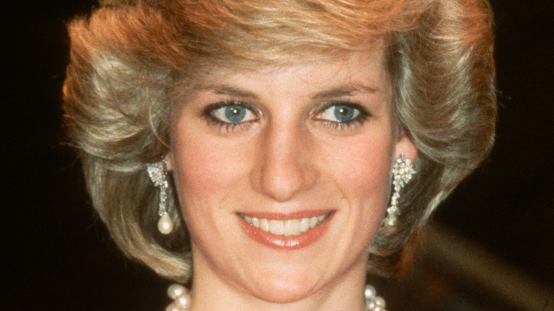 Princess Diana at an event.