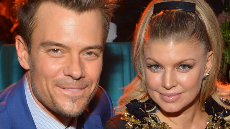 Fergie and Josh Duhamel at an event