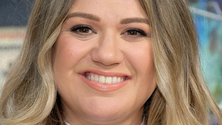 Kelly Clarkson at an event in NYC