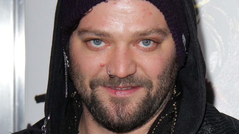 Bam Margera from Jackass smiling