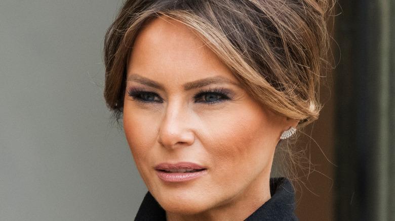 Melania Trump close up