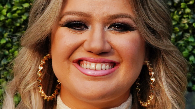 Kelly Clarkson at an event in 2018.