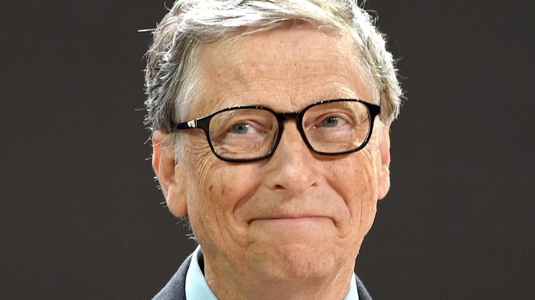 Bill Gates smiles