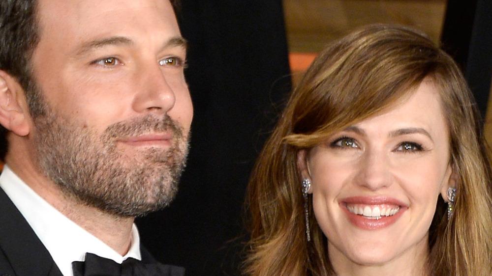 Jennifer Garner and Ben Affleck attend the 2014 Vanity Fair Oscars Party