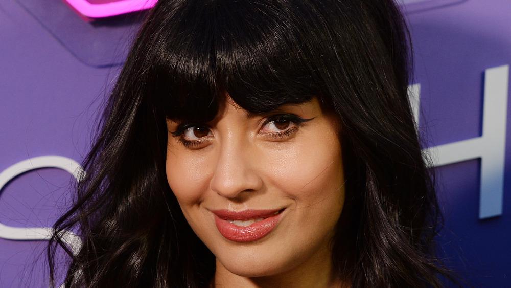 Jameela Jamil close up