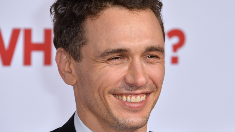 James Franco smiling