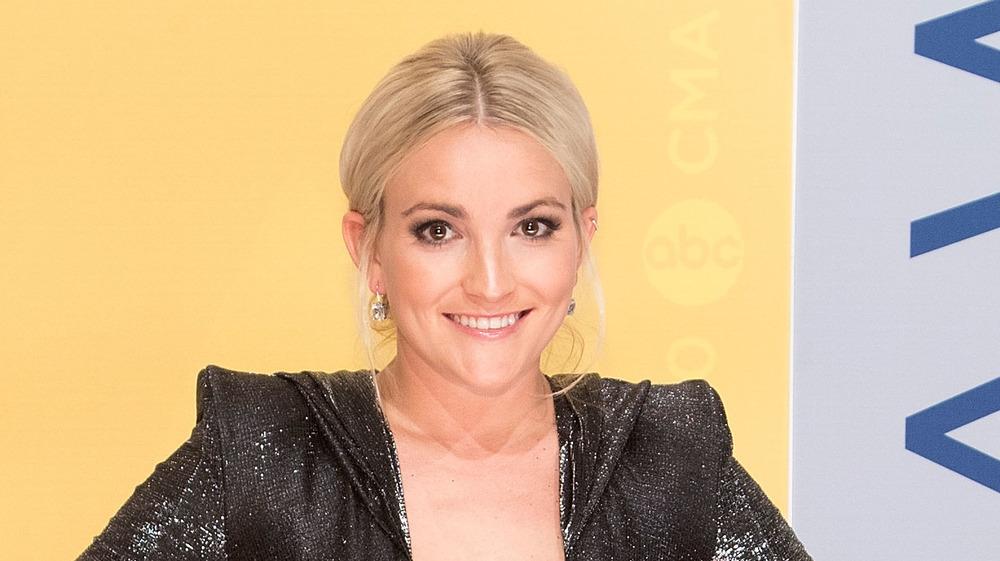 Jamie Lynn Spears smiling on the red carpet