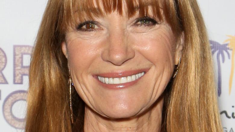 Jane Seymour smiles at camera