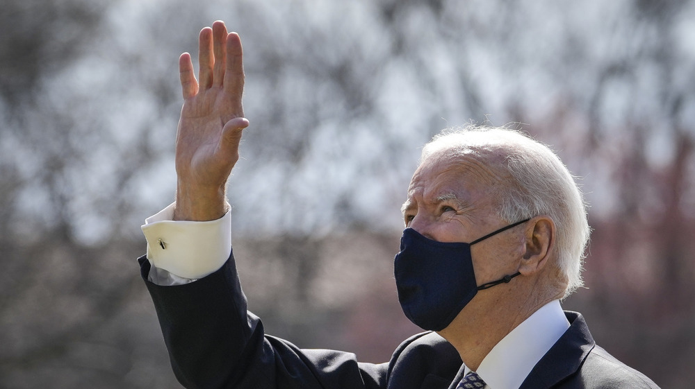 Biden on Friday before the trip