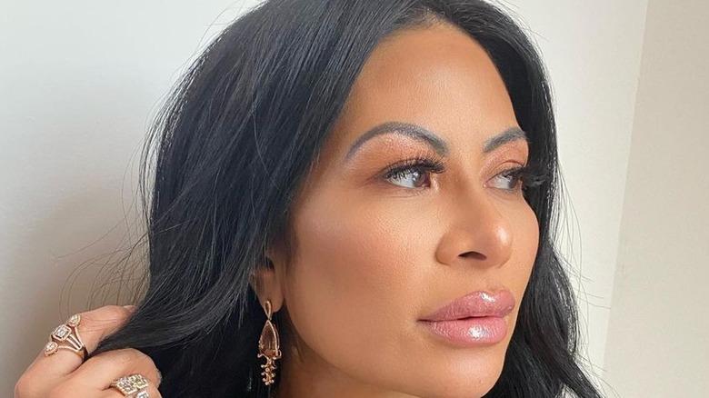 Jen Shah showing off beautiful makeup