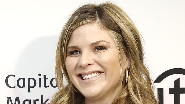 Jenna Bush Hager smiling