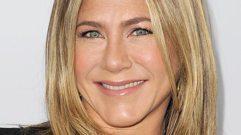 Jennifer Aniston on the red carpet.