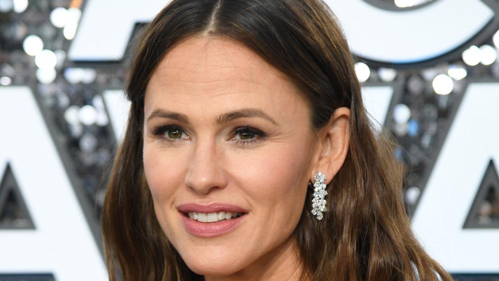 Close up of Jennifer Garner