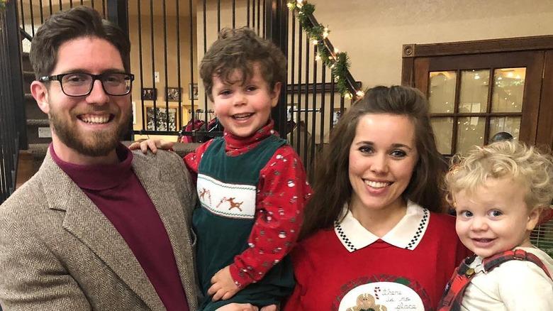 Jessa Duggar and family