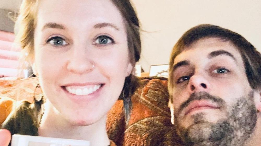 Jill and Derek Dillard smiling in selfie