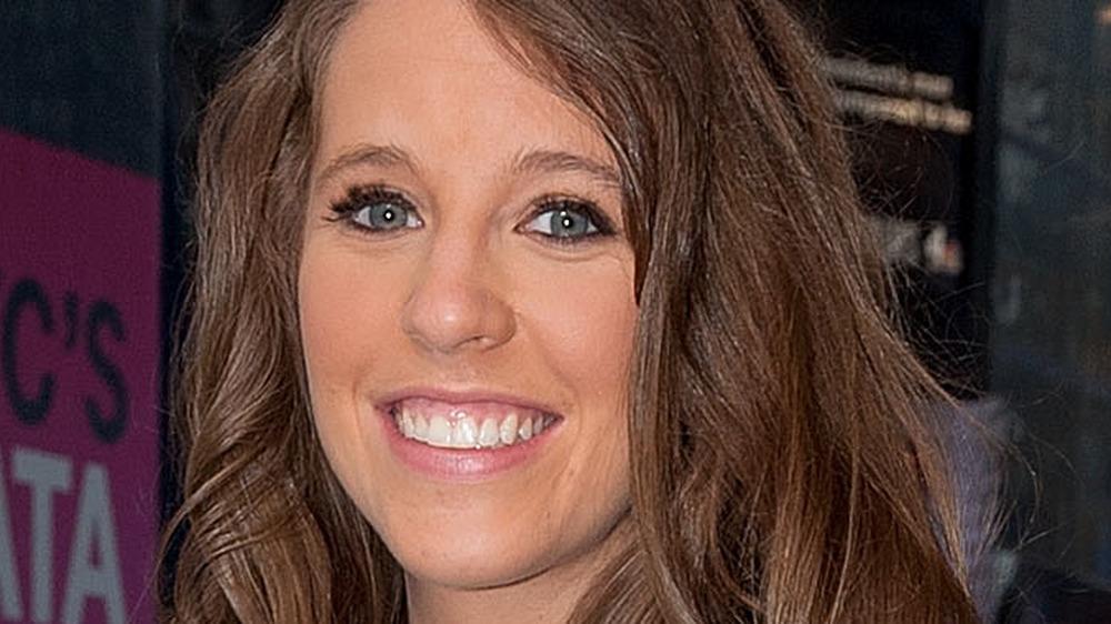 Jill Duggar smiles