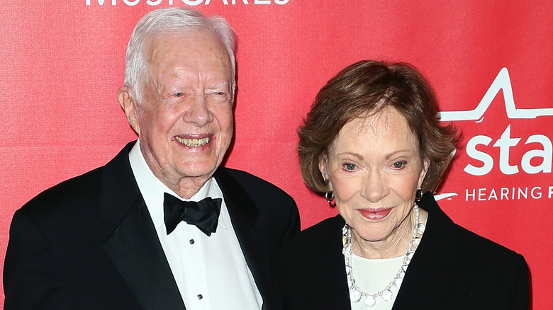 Jimmy and Rosalynn Carter 2015