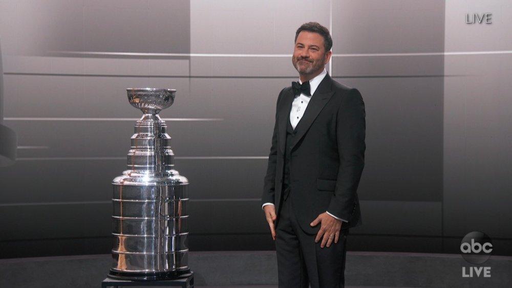 Jimmy Kimmel at Emmy Awards Ceremony