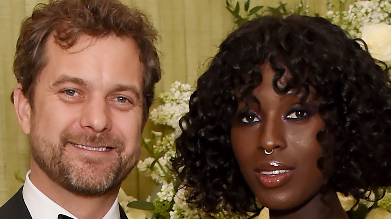 Jodie Turner-Smith and Joshua Jackson at event