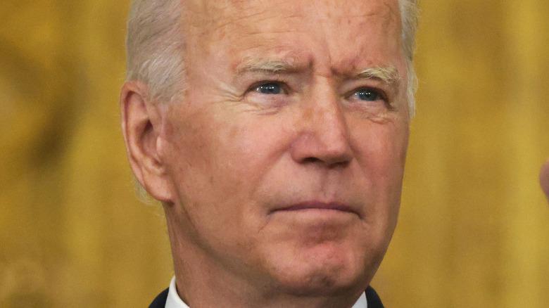 President Joe Biden smiling