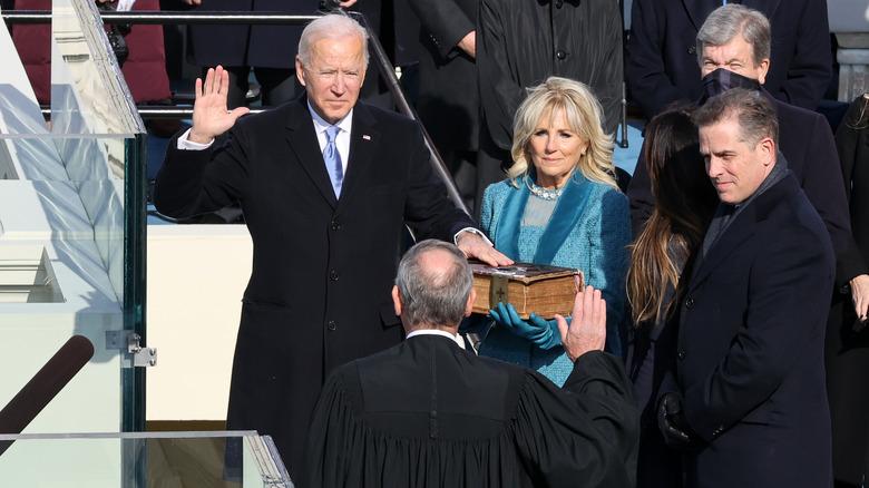 Biden presidential oath of office
