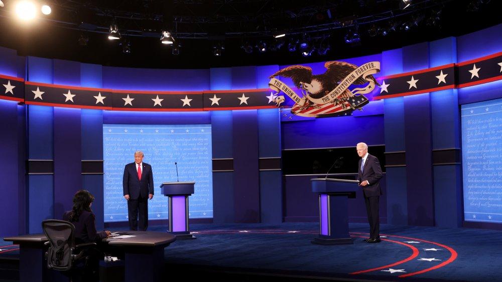 Debate stage - final Presidential Debate