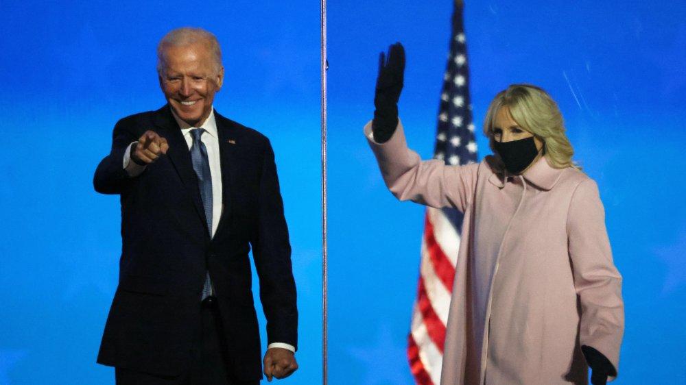 Joe Biden, election night 2020
