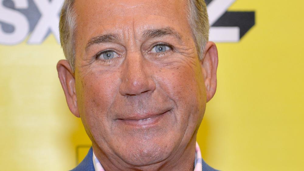 John Boehner on red carpet